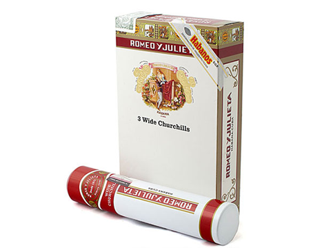 Romeo y Julieta Wide Churchills tubos 15 điếu